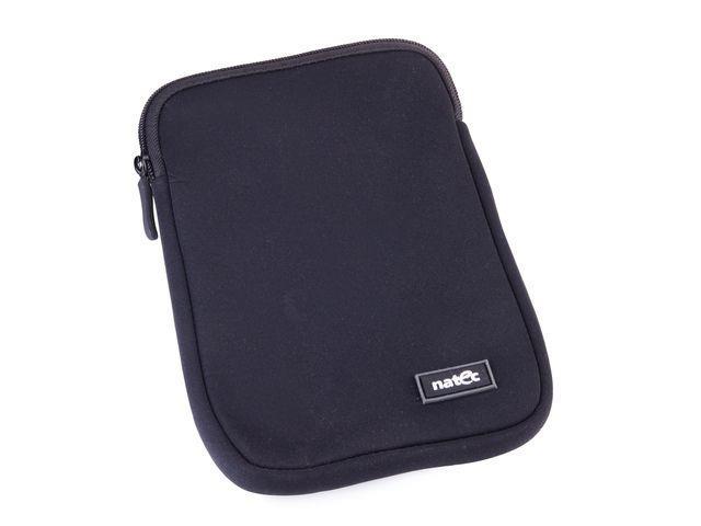 Natec PRAWN pouzdro pro tablet 7'', neoprén, zip, černé