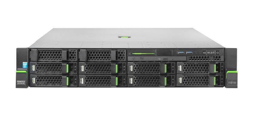 Primergy RX2540 M1 E5-2620v3(6C/2.4GHz) 16GB 10x3,5'' RAID5/6 DVDRW 4x LAN 1x450