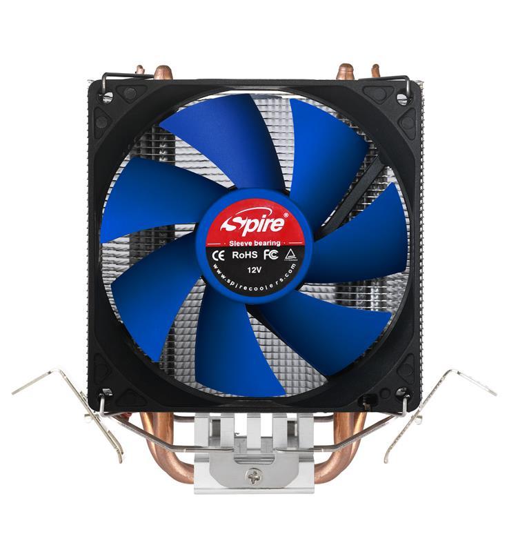SPIRE CPU chladič Kepler Rev.2, 2000RPM, 19.0dBA, 38,40CFM, 0.285C/W