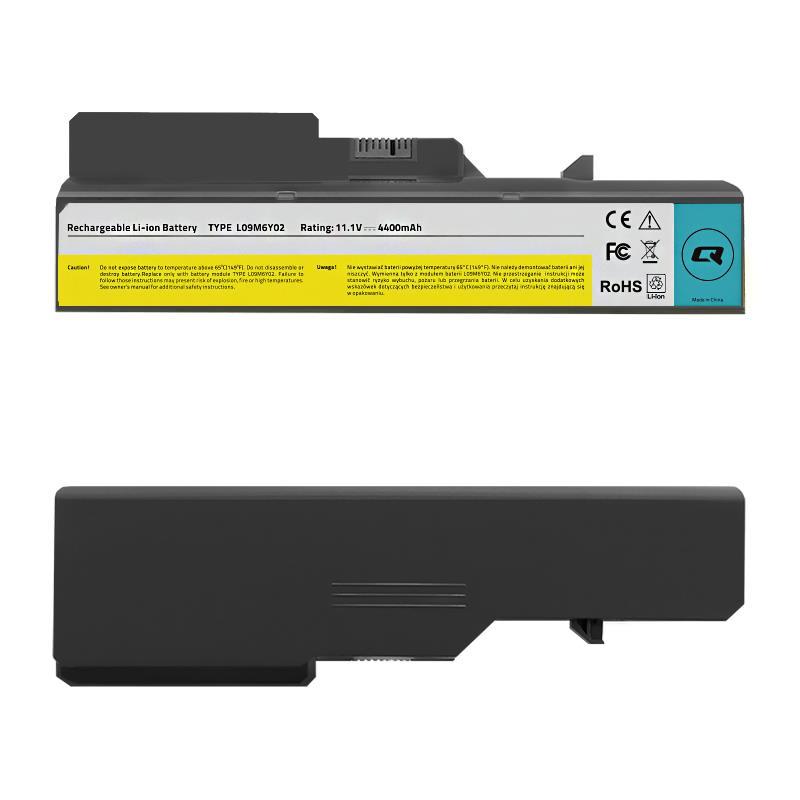 Qoltec Long Life baterie pro notebook Lenovo B470 B575 G460 G560 11.1 V 4400 mAh