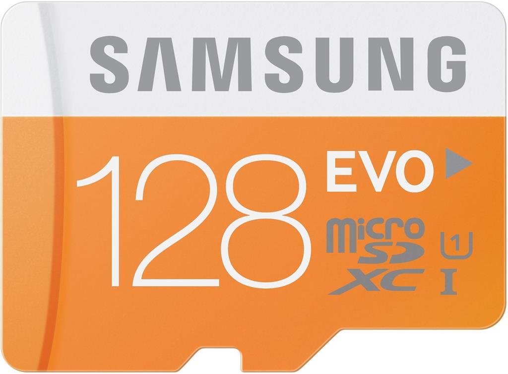 Samsung Micro SDXC karta 128GB (Class 10 UHS-I) + SD adaptér