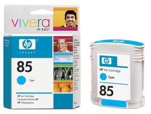 HP C9425A No. 85 Cyan Ink Cart pro DJ 30/130, 28 ml