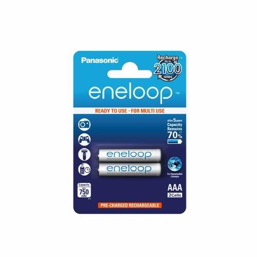 Panasonic Eneloop R03/AAA 750mAh, 2 ks, Blister