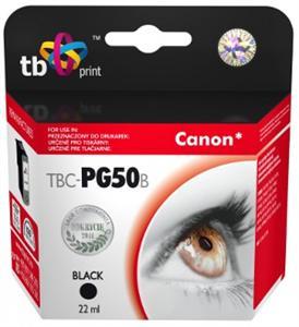 Ink. kazeta TB kompat. s Canon PG-50 Black