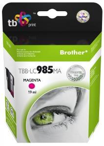 Ink. kazeta TB kompat. s Brother LC 985 MA 100% N
