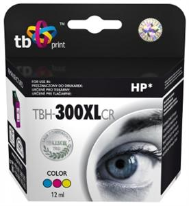 Ink. kazeta TB kompat s HP CC644EE (No.300XL)Color