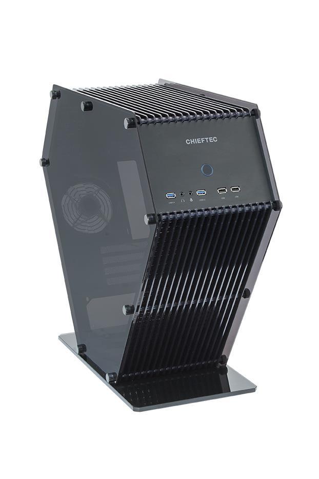 Chieftec PC skříň UNI SJ-06B mATX, USB 3.0