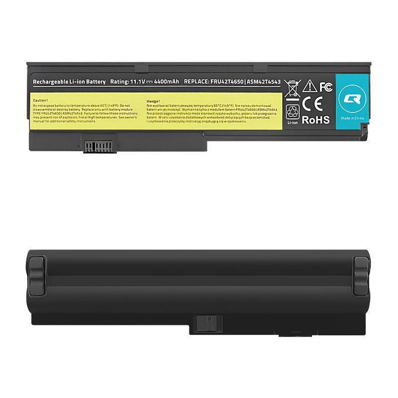 Qoltec Long Life baterie pro notebooky - Lenovo x200 x201 | 4400mAh | 11.1V