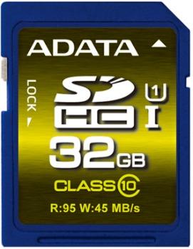 ADATA Premier Pro SDHC UHS-I U1 karta 32GB (95/45MB/s)