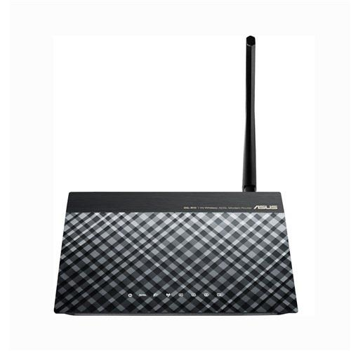 Asus DSL-N10 Wireless N150 ADSL 2/2+ Modem Router, Annex A&B, 1x 5dBi ant.