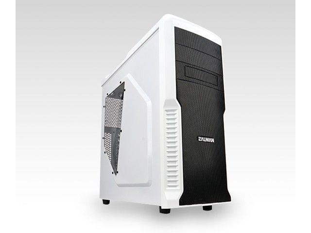 Zalman počítačová skříň Z3 PLUS bílý Midi Tower s oknem (USB 3.0, bez zdroje)