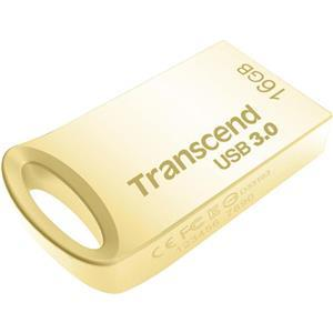 Transcend JetFlash 710 flashdisk 16GB, USB 3.0, pozlacený