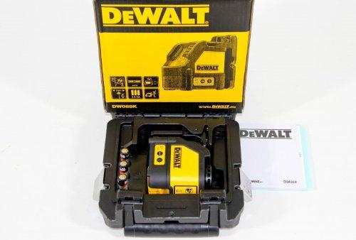 Laserový měřič DeWALT DW088K
