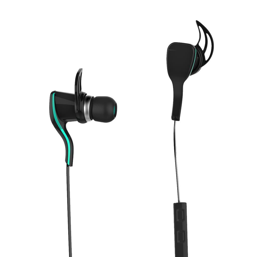 ART AP-B22 Bluetooth sluchátka s mikrofonem, černé, sport