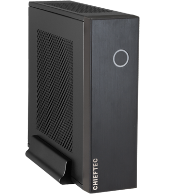 Chieftec PC skříň IX-03B-85W, zdroj 85W, ITX tower