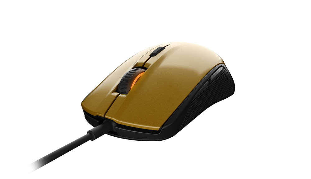 Gaming mouse SteelSeries Rival 100 Alchemy Gold