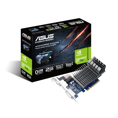 ASUS GeForce GT 710, 2GB GDDR3 (64 Bit), HDMI, DVI, D-Sub