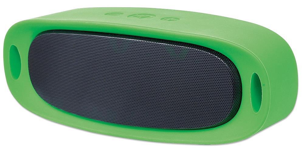 MANHATTAN Sound Science Orbit Durable Wireless Speaker GREEN