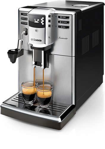 Kávovar Saeco HD8914/09 Incanto | stříbrný