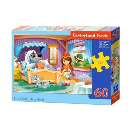 CASTOR puzzle 60 el. - Little Red Riding Hood