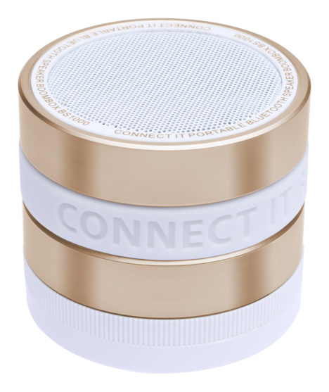 CONNECT IT Bluetooth reproduktor BOOM BOX BS1000G, gold