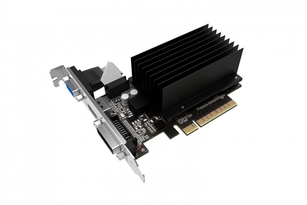 PALIT GeForce GT 710, 2GB SDDR3 (64 Bit), HDMI, DVI, D-Sub