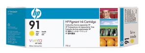 HP no 91 - žlutá ink. kazeta - 3 pack, C9485A