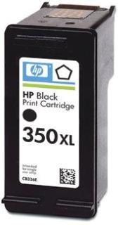Tisková náplň HP 350XL black | 25ml