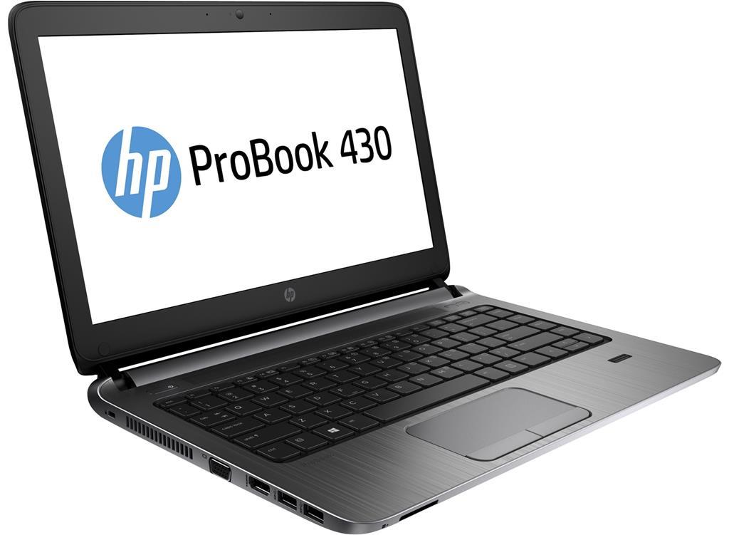 HP ProBook 430 G3, i5-6200U, 13.3 HD, 4GB, 256GB SSD, FpR, ac, BT, Backlit kbd, W10Pro-W7Pro