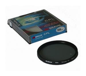 BRAUN C-PL polarizační filtr StarLine - 58 mm