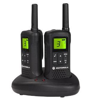 Motorola TLKR T60 vysílačka - 8 km, 8 kanálů