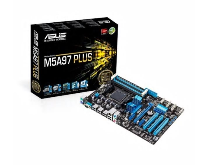 ASUS M5A97 PLUS, AM3+, AMD 970, 4xDDR3, PCIe16, GLAN, USB 2.0, ATX