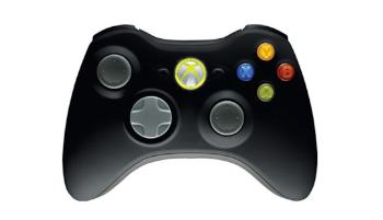 Xbox 360 Wireless Controller New Black + PC USB Adapter