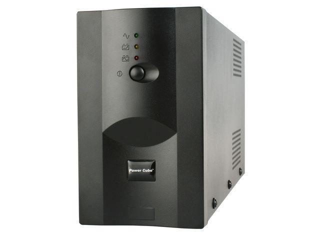 Promo Pack: Energenie UPS 1200VA + Natec přepěťová ochrana pro UPS, 3 zásuvky