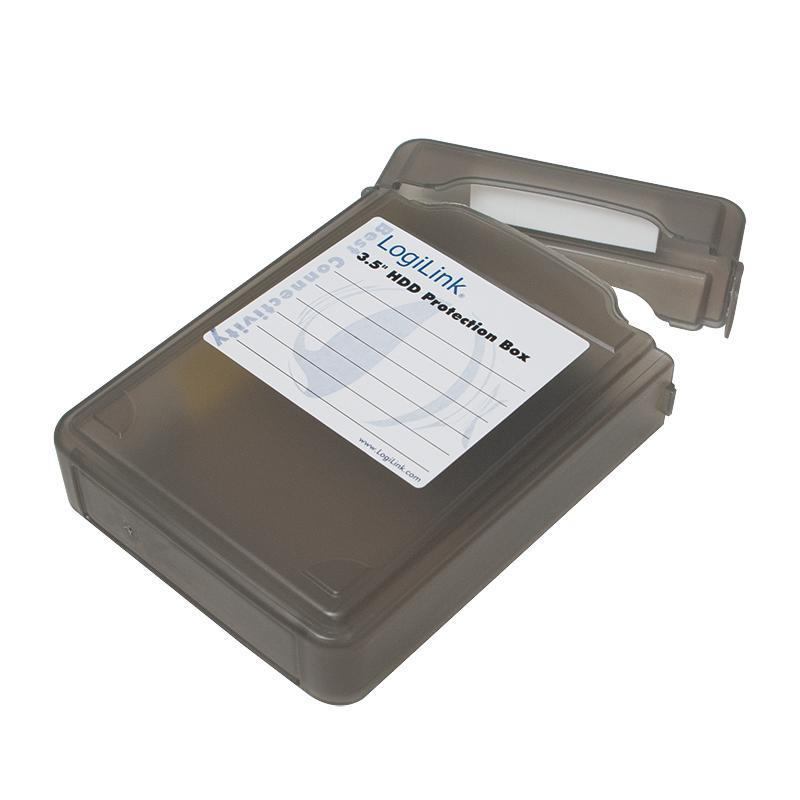 LOGILINK - Ochranný box pro 3.5'' HDD black