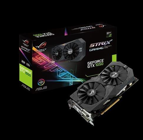 ASUS GeForce GTX 1050 2GB GDDR5, HDMI 2.0, DVI, Regular DP