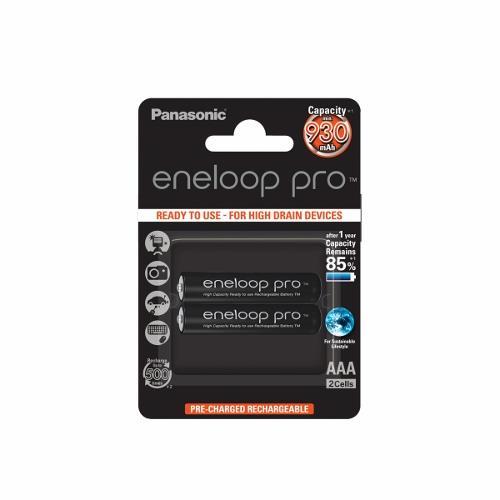 Panasonic Eneloop Pro R03/AAA 930mAh, 2 ks, Blister