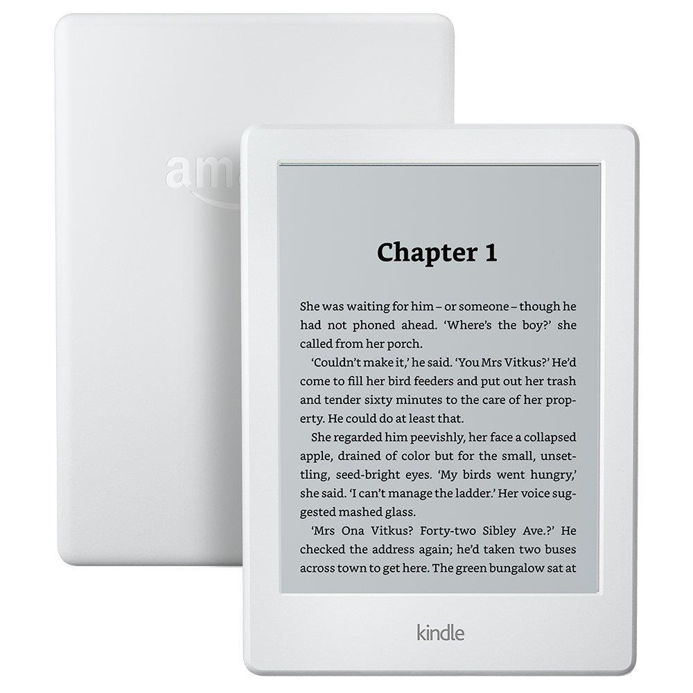 Amazon Kindle E-Reader 6'' Glare-Free WiFi, white