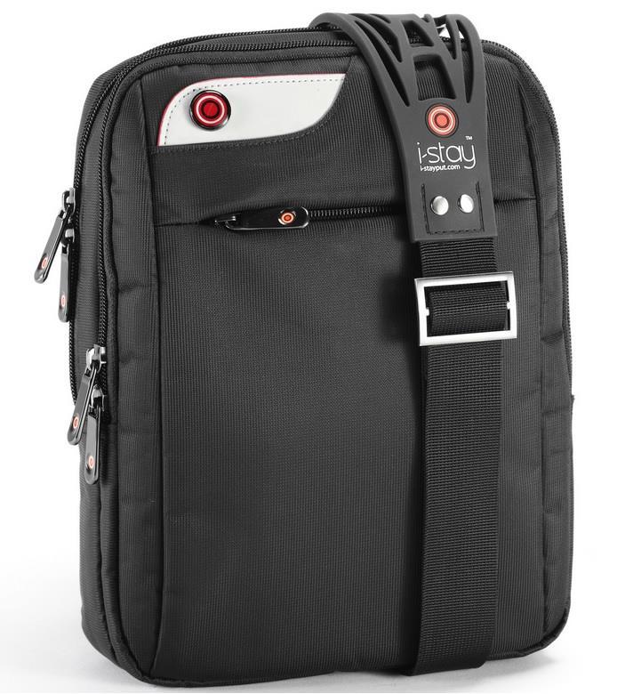 i-Stay tablet iPad messenger bag 10.1'' black