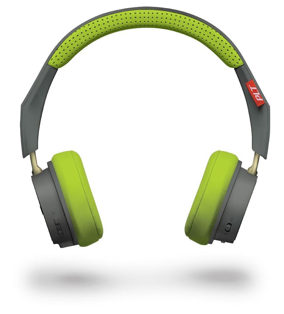 Plantronics BackBeat 500 Bluetooth stereo sluchátka s mikrofonem, šedá