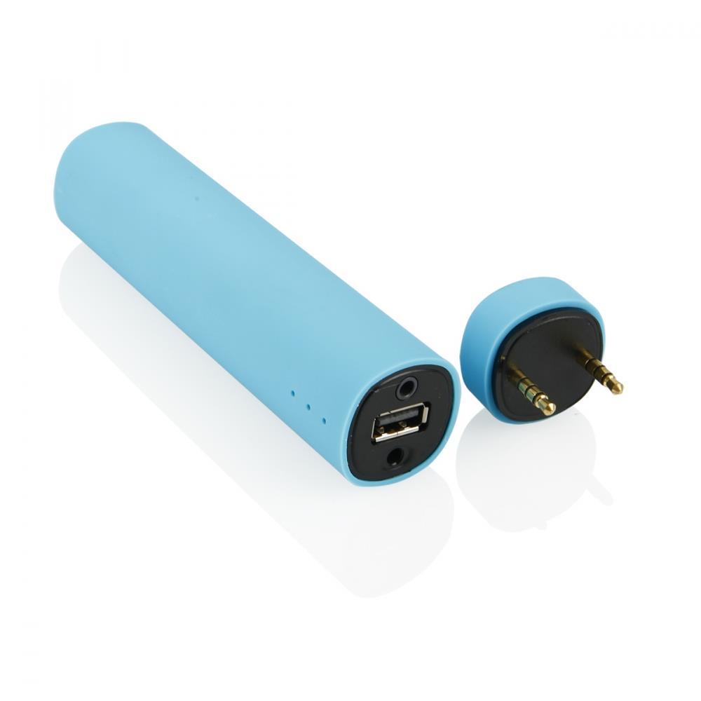 GT BY03 externí baterie 4000mAh + mini reproduktor, modrá