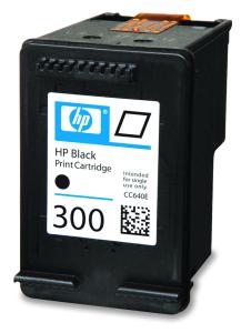 HP 300 Black Ink Cart, 4 ml, CC640EE