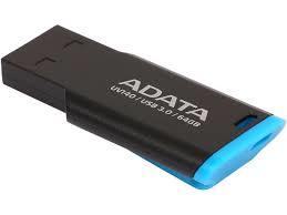 Adata Flash Drive UV140, 64GB, USB 3.0, black and blue
