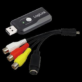 LOGILINK - Grabber Audio/Video USB 2.0 s funkcí Snapshot