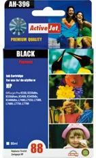 Inkoust ActiveJet AH-396 | Black | 80 ml | Refill | HP C9396AE