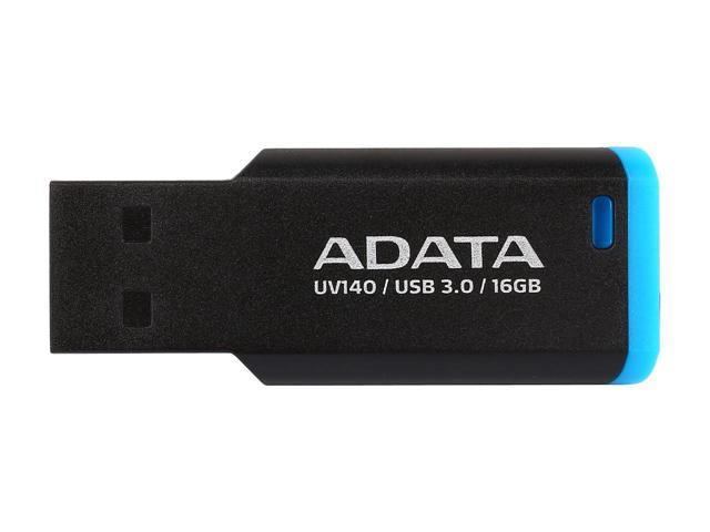 Adata Flash Drive UV140, 16GB, USB 3.0, black and blue