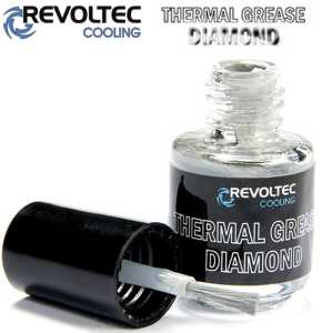 Revoltec Thermal Grease Diamond, teplovodivá pasta, 6 g