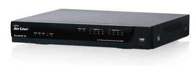 AirLive Network Video Recorder 16CH up to 5M , HDMI/VGA, ONVIF, up to 6TB