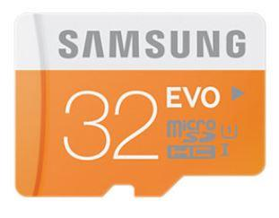 Samsung paměťová karta micro SDHC 32GB Class 10 UHS-I Evo (rychlost až 48MB/s)