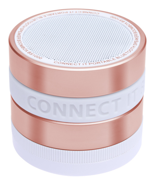 CONNECT IT Bluetooth reproduktor BOOM BOX BS1000RG, rose gold